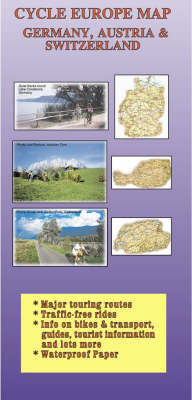 Cycle Europe Map: Germany, Austria and Switzerland - Cycle Europe maps (Paperback)