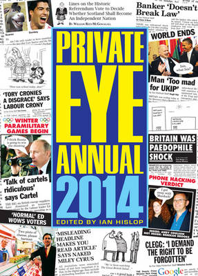 Private Eye Annual 2014 (Hardback)