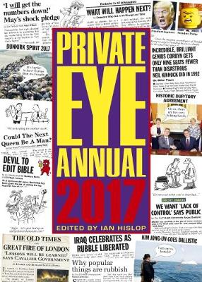 Private Eye Annual 2017 (Hardback)