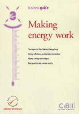 Making Energy Work (Paperback)