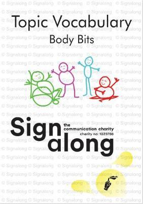 Topic Vocabulary: Body Bits (Spiral bound)