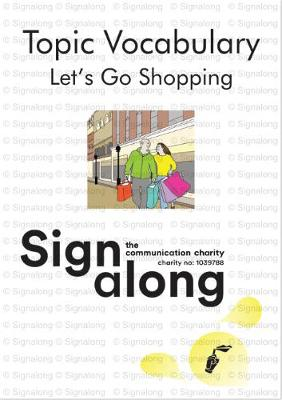 Topic Vocabulary: Let's Go Shopping (Spiral bound)