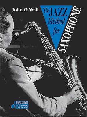 Jazz Method for Saxophone - Tutor Book & CD