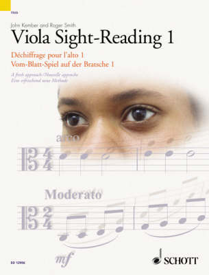 Viola Sight-reading 1: Viola Edition: A Fresh Approach - The Sight-Reading Series (Paperback)