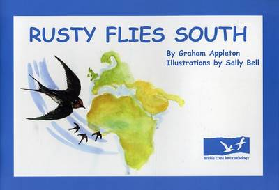 Rusty Flies South (Paperback)