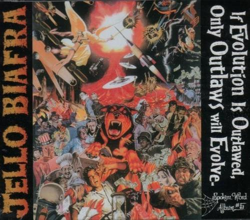 If Evolution is Outlawed, Only Outlaws Will Evolve (CD-Audio)