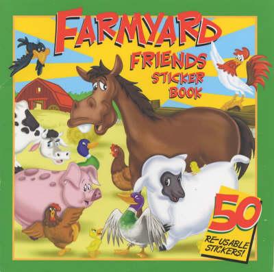 Farmyard Friends Sticker Book: Read and Count - Cartoon Club S. No. 1