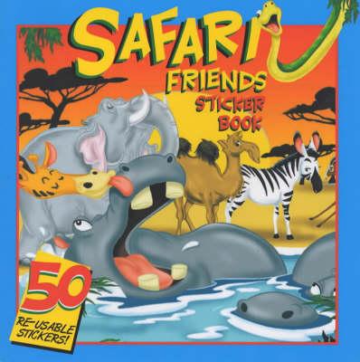Safari Friends Sticker Book: Read and Count - Cartoon Club S. No. 2