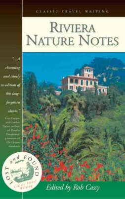 Riviera Nature Notes (Paperback)