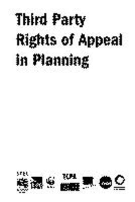 Third Party Rights of Appeal in Planning (Paperback)