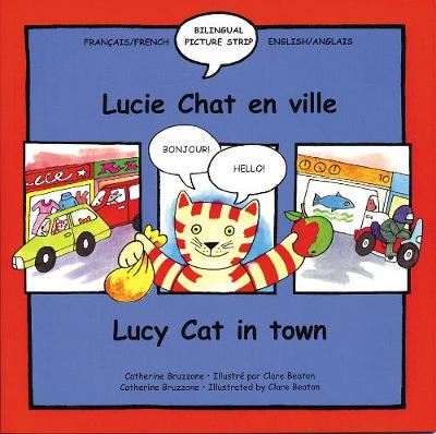 Lucy Cat in the Town: Lucie Chat En Ville - Lucy Cat S. 2 (Paperback)
