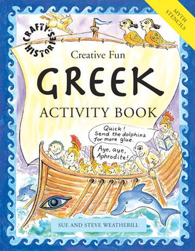Greek Activity Book - Crafty History S. 4 (Paperback)