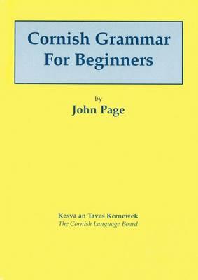 Cornish Grammar for Beginners (Paperback)