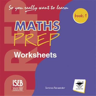 So You Really Want to Learn Maths Book 1: Worksheets CD - So You Really Want to Learn Bk. 1 (CD-Audio)