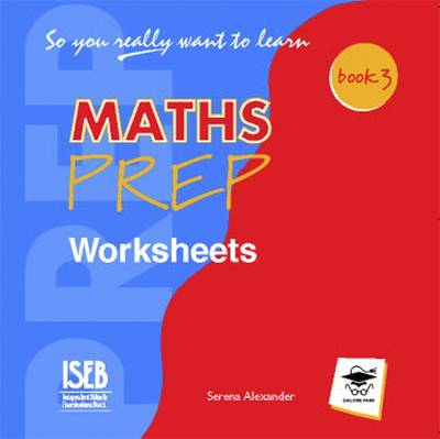 So You Really Want to Learn Maths: Worksheets CD Book 3 - So You Really Want to Learn 3 (CD-Audio)