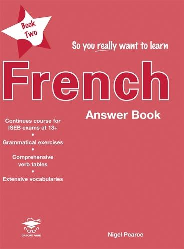 So You Really Want to Learn French Book 2 Answer Book (Paperback)