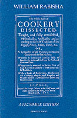 The Whole Body of Cookery Dissected (Paperback)