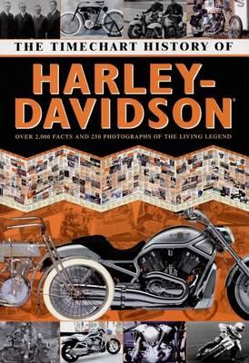 Timechart History of Harley-Davidson (Hardback)