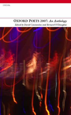 Oxford Poets Anthology 2007 (Paperback)
