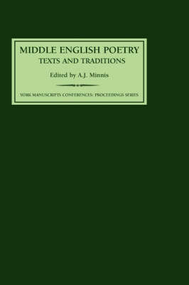 Middle English Poetry: Texts and Traditions - York Manuscripts Conference v. 5 (Hardback)