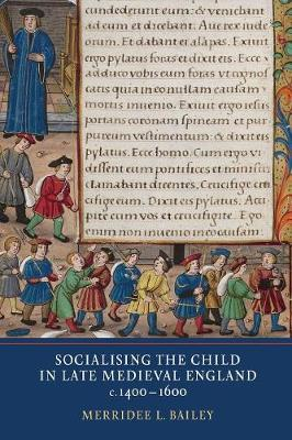 Socialising the Child in Late Medieval England (Paperback)