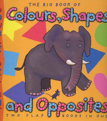 Double Delights: Big Book of Colours, Shapes and Opposites - Double Delights S. (Hardback)