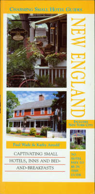 New England - Charming Small Hotel Guides (Paperback)