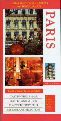 Paris - Charming Small Hotel Guides (Paperback)