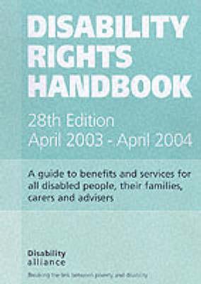 Disability Rights Handbook April 2003-April 2004 (Paperback)