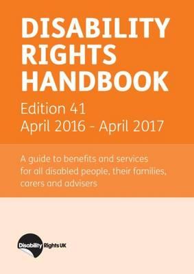 Disability Rights Handbook: April 2016 - April 2017 (Paperback)