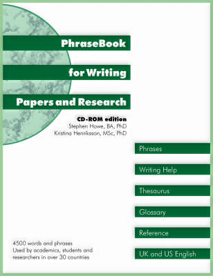 PhraseBook for Writing Papers and Research (CD-ROM)