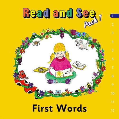 Jolly Phonics Read and See, Pack 1: in Precursive Letters (BE) (Paperback)