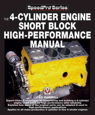 How to Blueprint and Build a 4-cylinder Engine Short Block for High Performance - SpeedPro Series (Paperback)