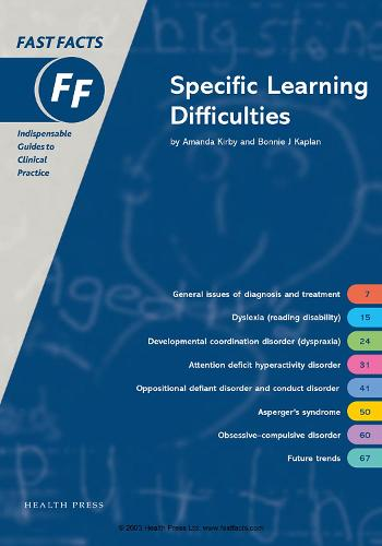 Fast Facts: Specific Learning Difficulties - Fast Facts (Paperback)