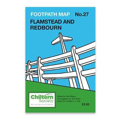 Flamstead and Redbourn - Chiltern Society Footpath Maps Series No. 27 (Sheet map, folded)