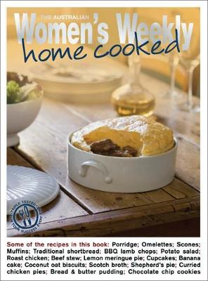 Home Cooked - The Australian Women's Weekly: New Essentials (Paperback)