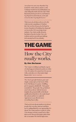 The Game: How The City Really Works (Paperback)