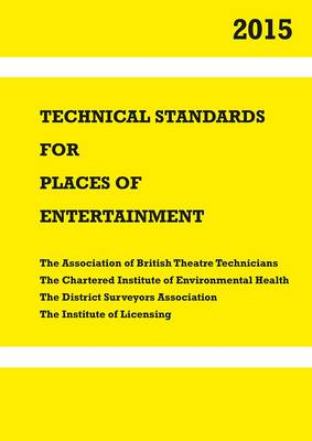 Technical Standards for Places of Entertainment (Spiral bound)