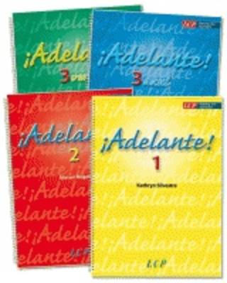 Adelante!: Azul 3 (Spiral bound)
