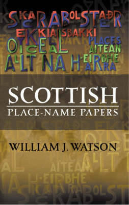 Scottish Place-Name Papers (Paperback)