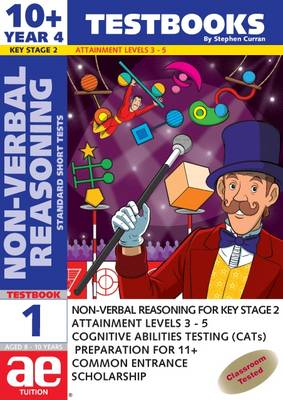 10+ (Year 4) Non-verbal Reasoning Testbook 1: Standard Short Tests - 10+ (Year 4) Non-verbal Reasoning Workbooks for Children (Paperback)