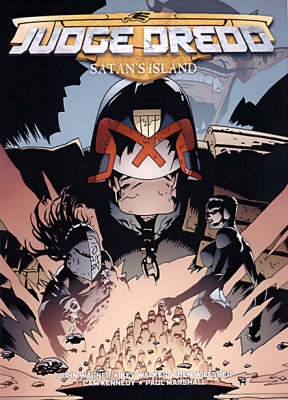 Judge Dredd: Satan's Island (Paperback)
