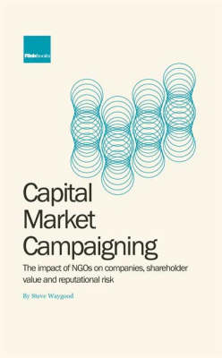 Capital Market Campaigning: The Impact of NGO Campaigning on Companies, Shareholder Value and Reputational Risk (Hardback)