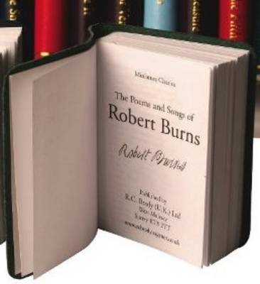 Robert Burns: Poems and Songs (Leather / fine binding)