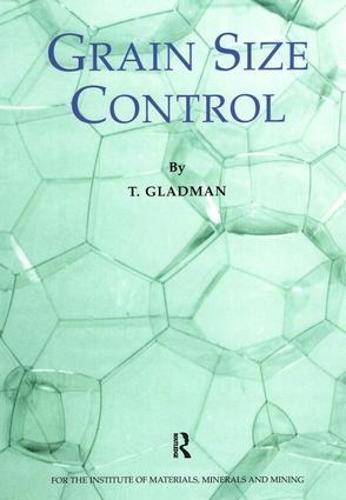 Grain Size Control (Paperback)