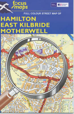 Full Colour Street Map of Hamilton, East Kilbride, Motherwell: 012 (Sheet map, folded)