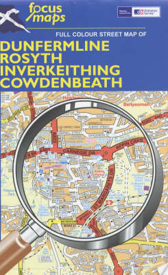 Full Colour Street Map of Dunfermline, Rosyth, Inverkeithing, Cowdenbeath: 014 (Sheet map, folded)