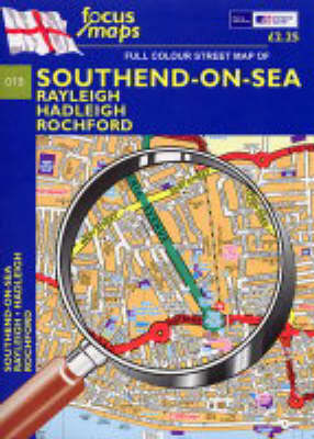 Full Colour Street Map of Southend-on-sea: Rayleigh- Hadleigh- Rochford (Sheet map, folded)