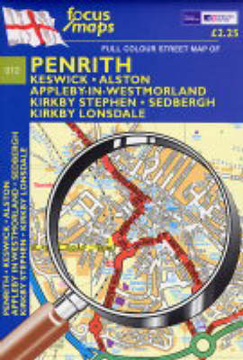 Full Colour Street Map of Penrith: Keswick - Alston - Appleby-In-West Morland - Kirkby Stephen Sedbergh,Kirkby Lonsdale (Sheet map, folded)