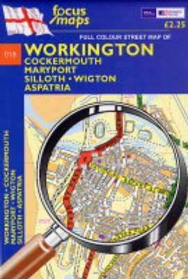 Full Colour Street Map of Workington: Cockermouth,Mary Port,Silloth,Wigton Aspatria (Sheet map, folded)